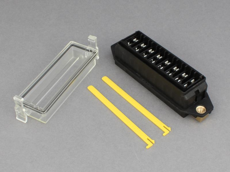 standard blade fuse box for panel mounting 8 way 12 volt planet